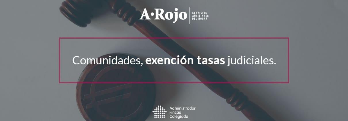 exencion tasas judiciales