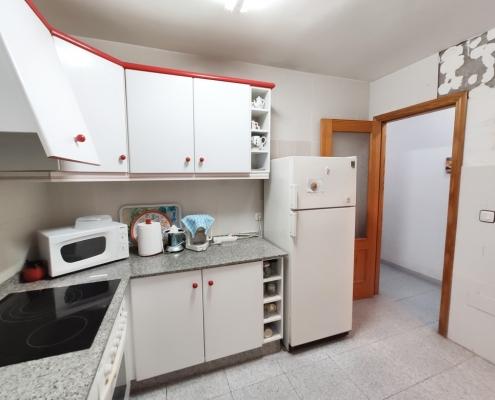 Puerto Mazarrón piso a la venta cocina