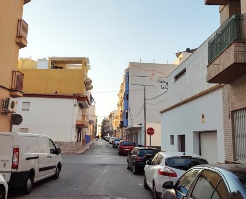Puerto Mazarrón piso a la venta zaguan